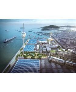 인천항, 최첨단 자동차 물류클러스터 조성으로 지역경제 성장 견인