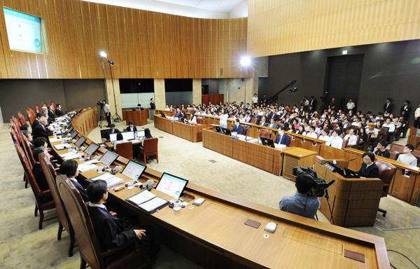 대법원공개변론모습(사진=대법원)