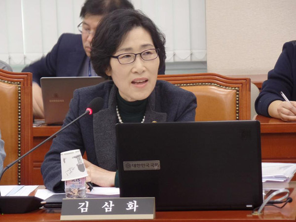 변호사 출신 김삼화 국민의당 의원