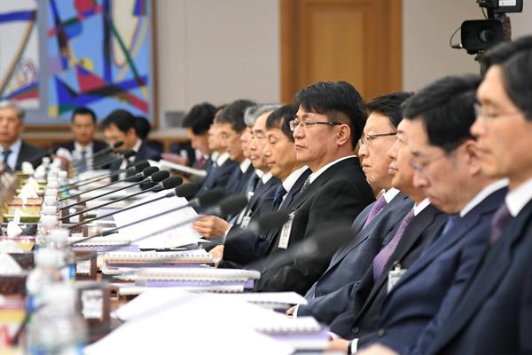전국 법원장들(사진제공=대법원)