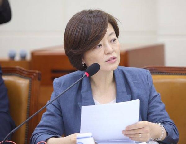 변호사인 진선미 더불어민주당 의원