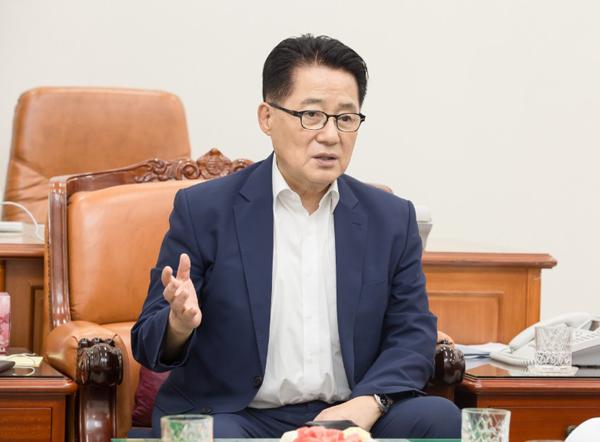 박지원 국민의당 대표
